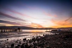 Blue Sky on Seashore Royalty Free Stock Photo