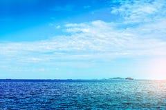 Sea and sky Stock Image