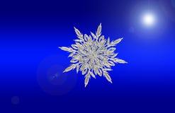 Blue, Sky, Snowflake, Computer Wallpaper Royalty Free Stock Image
