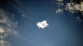 Blue sky with some clouds. background. Blue sky with some clouds. background stock images