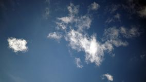 Blue sky with some clouds. background. Blue sky with some clouds. background stock photos