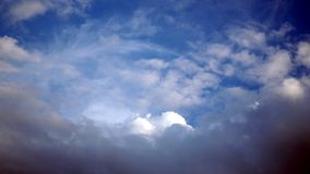 Blue sky with some clouds. background. Blue sky with some clouds. background royalty free stock image
