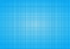 Blue Sky Squares Tile Grid background. Blue grid background with white lines forming squares or checkers vector illustration