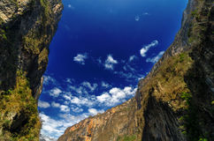Sumidero Canyon Royalty Free Stock Photos