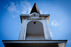 Blue Sky Steeple Royalty Free Stock Photography