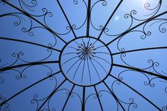 Blue, Sky, Structure, Branch Stock Image