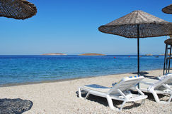 Coast in Aegean Stock Photo