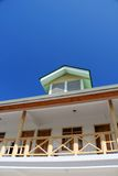 Blue Sky Summer House Real Estate Royalty Free Stock Images