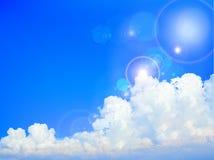blue sky of summer Stock Photos