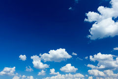 Blue sky with sun Royalty Free Stock Images