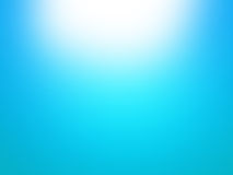 Blue Sky Sunburst Background Stock Photography