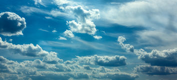 Blue sky. Royalty Free Stock Photography