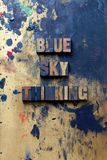 Blue Sky Thinking Stock Photos