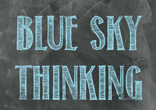 Blue Sky Thinking Stock Photos