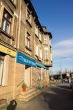 Blue Sky Travel agency stock photography