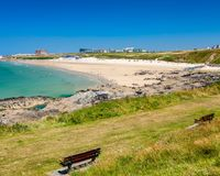 Fistral Beach Newquay Cornwall England Stock Photos