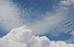 Blue Sky. And various cloud formations Stock Photo