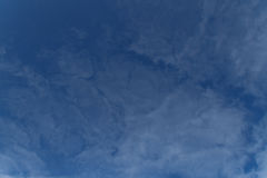 Blue sky. The vast blue sky and clouds sky Royalty Free Stock Photos