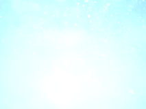 Blue sky and white abstract bokeh background and texture Stock Photos