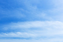 Blue sky white cloud Stock Photography
