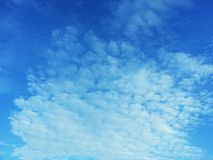Blue sky and white cloud Royalty Free Stock Photos