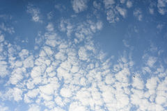 Blue sky white cloud Royalty Free Stock Image