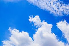 Blue sky and White Clouds 180930 royalty free stock images
