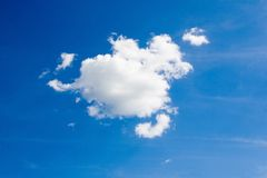 Blue sky and white clouds Royalty Free Stock Images