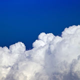 Blue sky white clouds Stock Photos
