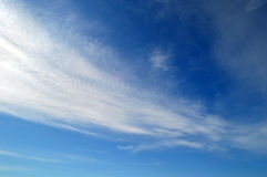 Blue sky. With white clouds Royalty Free Stock Photography