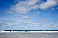 Blue sky and white clouds Royalty Free Stock Photo