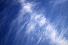 Blue sky and white clouds. Background dreaming freedom weather stock photography