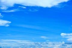 Blue sky. Royalty Free Stock Photo