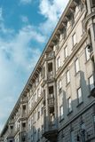 Cloudy city sky Royalty Free Stock Photo