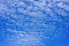 Blue sky and white clouds. Beautiful blue sky and white clouds Stock Photography