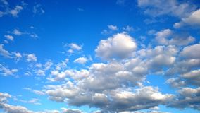 Blue Sky and white clouds Royalty Free Stock Photos