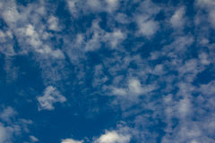 Blue sky with white clouds. Photo wallpaper Background blue sky with white clouds Royalty Free Stock Photo