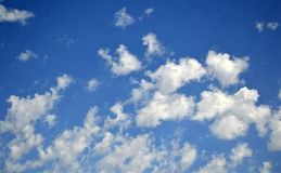 Blue sky. Royalty Free Stock Images