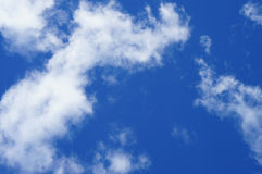 Blue sky and white clouds Stock Photography