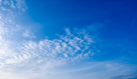 Blue Sky 02. The blue sky and white could Royalty Free Stock Photography