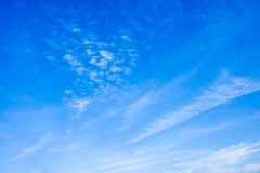 Blue Sky 03. The blue sky and white could Royalty Free Stock Photography