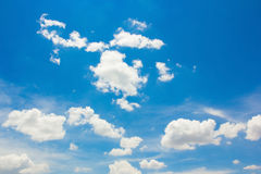 Blue Sky With Cloud. Royalty Free Stock Image