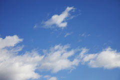 Free Blue Sky With Clouds Royalty Free Stock Photography - 13229497
