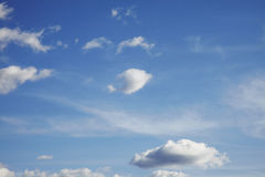 Free Blue Sky With Clouds Royalty Free Stock Photography - 13229587