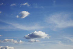 Free Blue Sky With Clouds Royalty Free Stock Photos - 13229778
