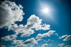 Free Blue Sky With Clouds Royalty Free Stock Photos - 2785678
