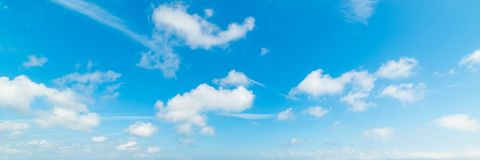Free Blue Sky With Small White Clouds Stock Image - 153044271