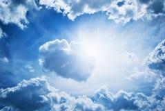 Blue skylight Royalty Free Stock Image