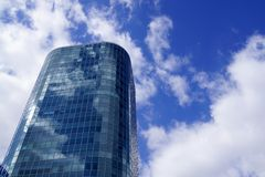 Blue skyscraper Royalty Free Stock Image