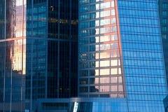 Blue skyscraper Stock Photography